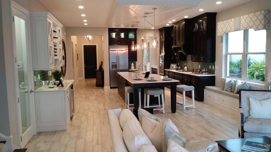 Toll Brothers New Home Builder.  New Kitchen.  New homes for sale winter garden. rich noto