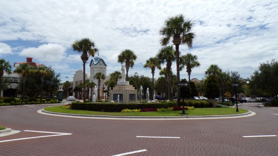 Winter Garden Village Fountain. homes for sale