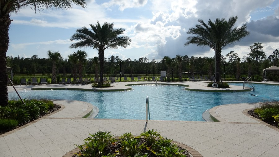 Serenoa Community Clubhouse Pool. Serenoa Homes for sale. Rich Noto Real Estate
