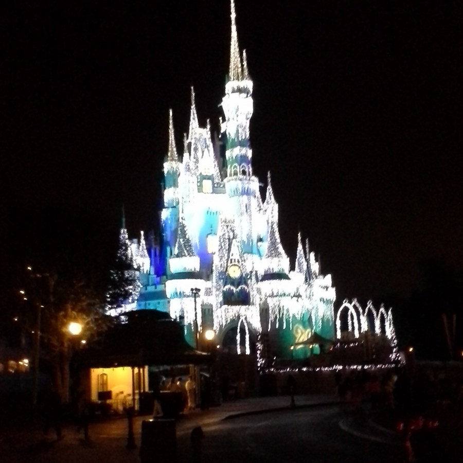 Magic Kingdom Cinderella Castle at Christmas time. Rich Noto Realtor