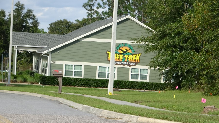 Orlando Tree trek adventure park is across the street from Encore Resort at Reunion. vacation homes for sale. Kissimmee 34747.