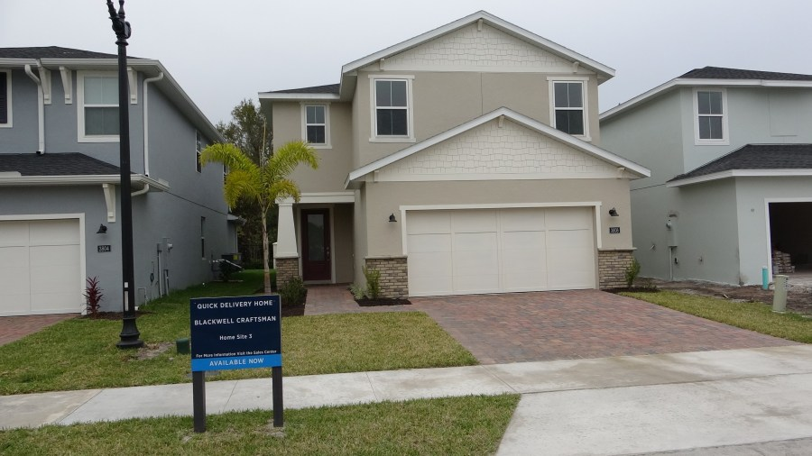 Toll Brothers Parkview Place Homes For Sale. Gated Community in Sanford Florida.