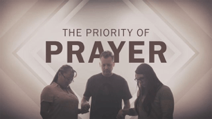 priority of prayer