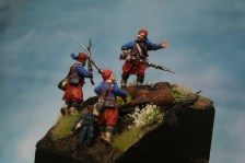ZUAVOS DE COPPENS 28mm Perry miniatures
