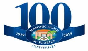 Masonic Home Logo White