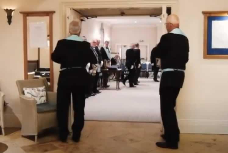 Masonic Initition - England
