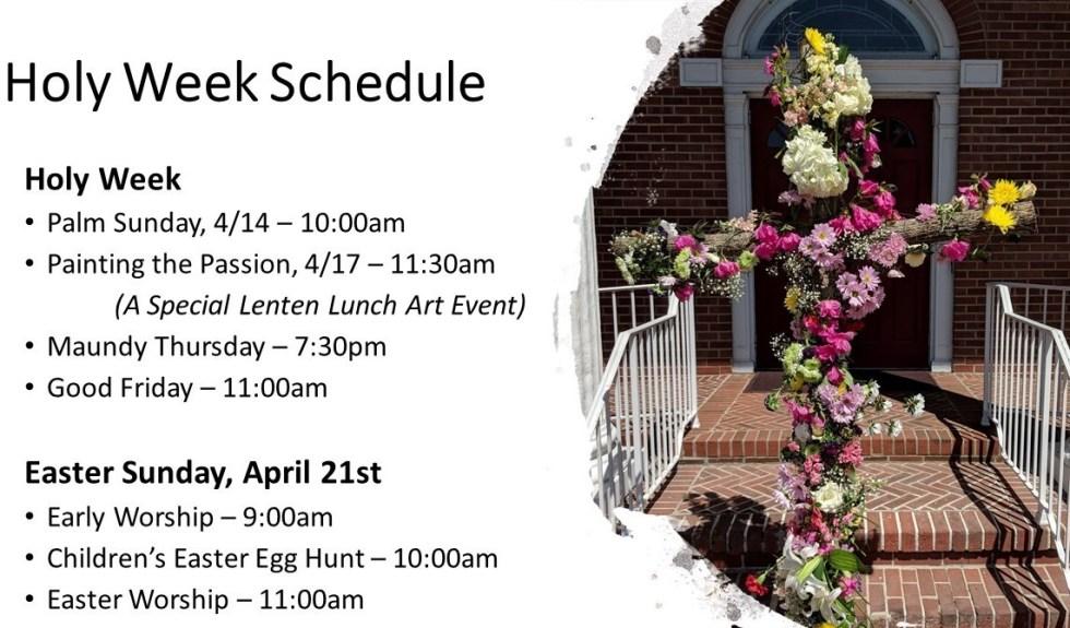 Holy Week Slide