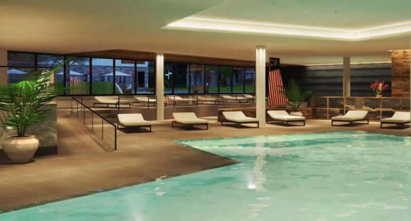 Landal Maria Alm zwembad en wellness