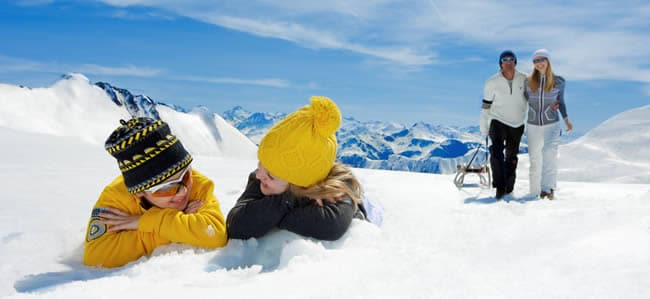Wintersport met kinderen in Serfaus-Fiss-Ladis