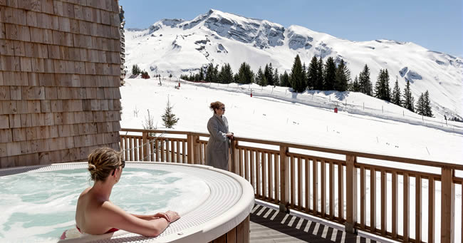 Wintersport en relaxen in de lente