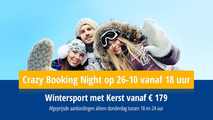 Crazy Bookingsnight WintersportEuropa & WinterTrex