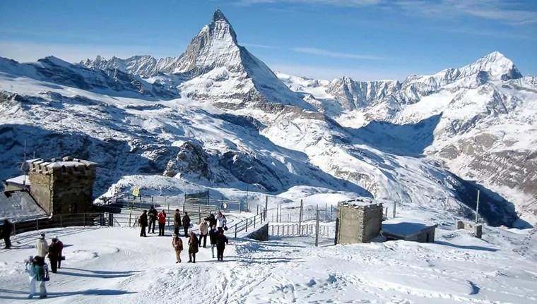 Wintersport Zermatt