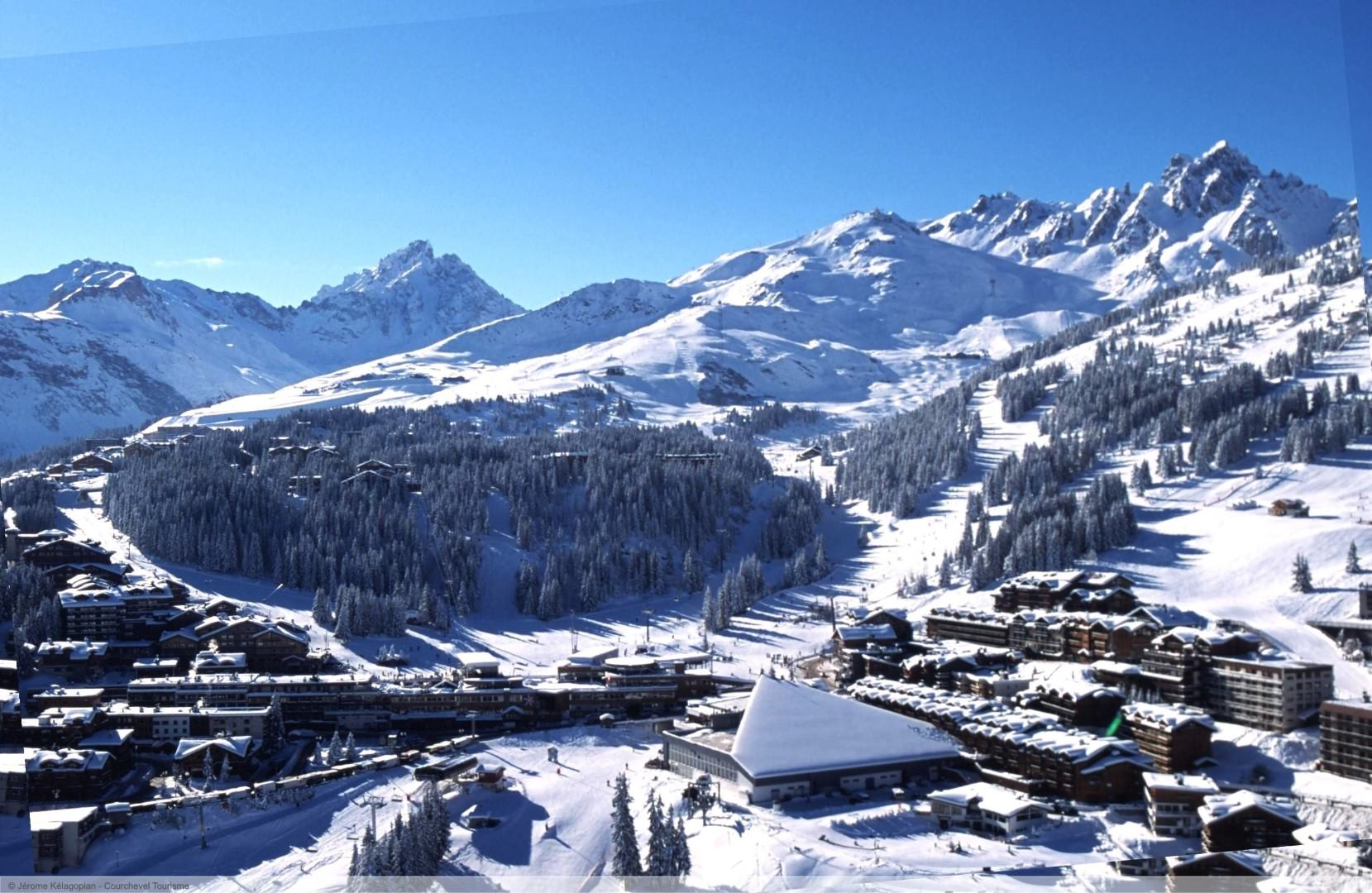 wintersport en aanbiedingen in Courchevel