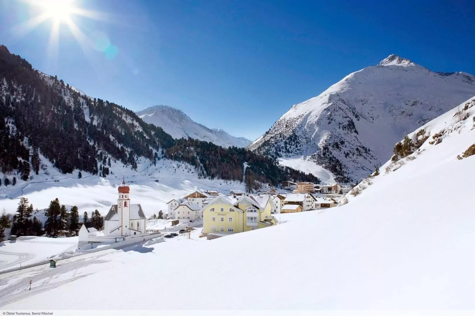 wintersport en aanbiedingen in Vent