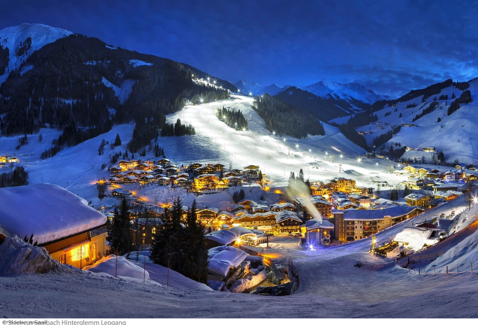 wintersport en aanbiedingen in Hinterglemm