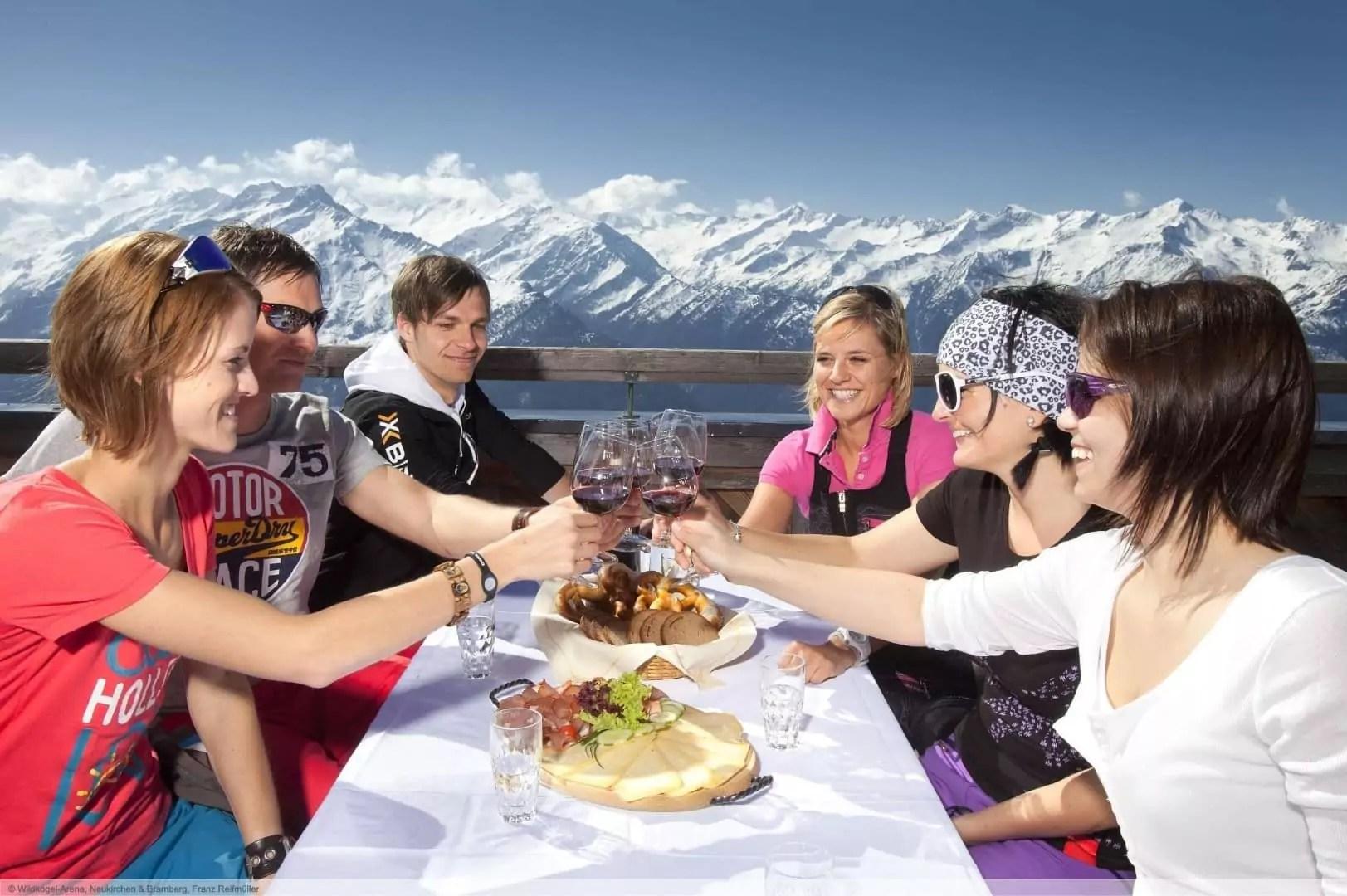 après-ski in Wald im Pinzgau