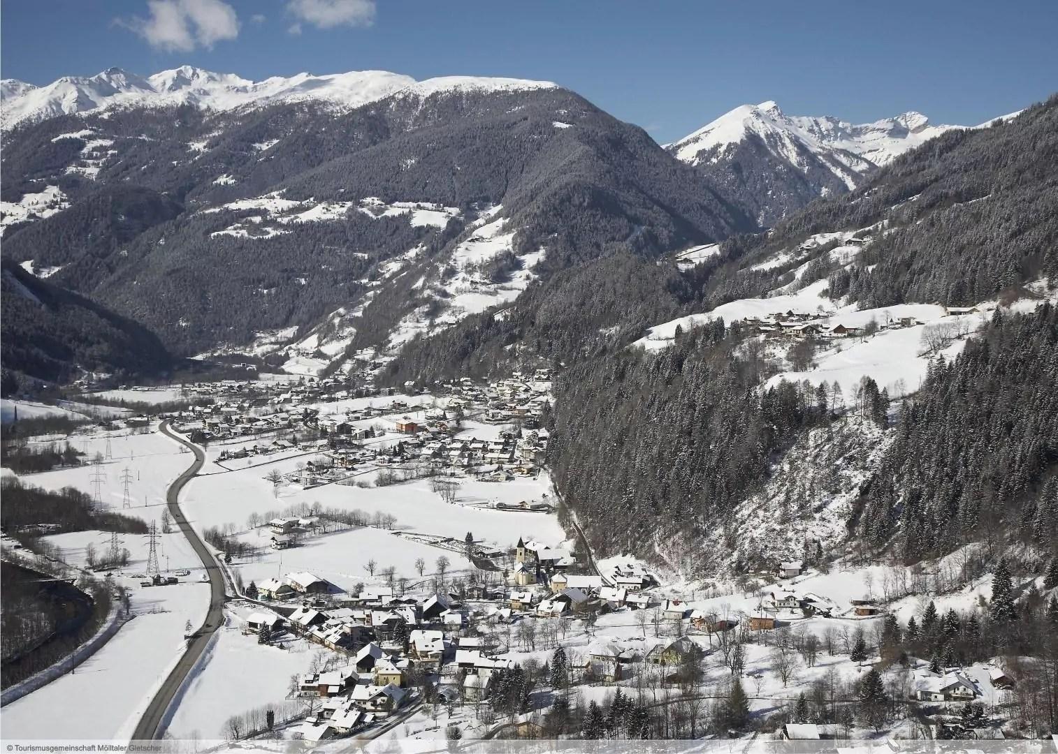 Wintersport in skigebied Flattach