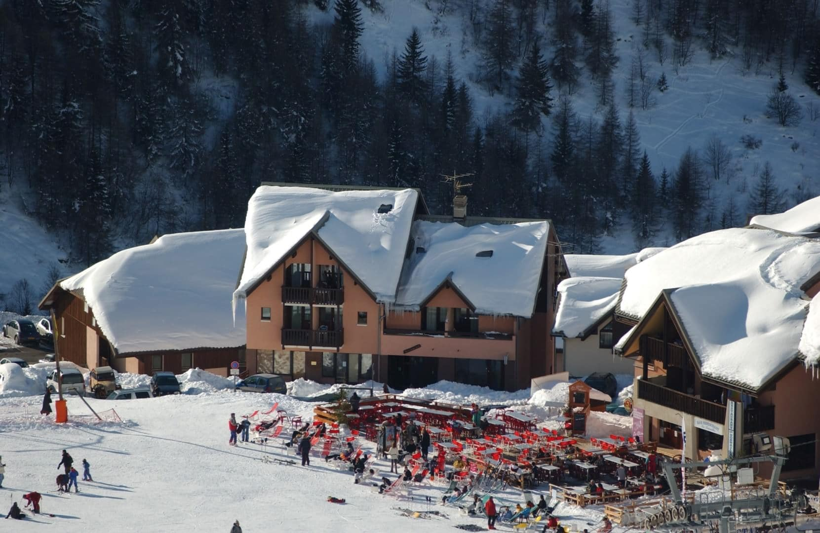 après-ski in Valmeinier
