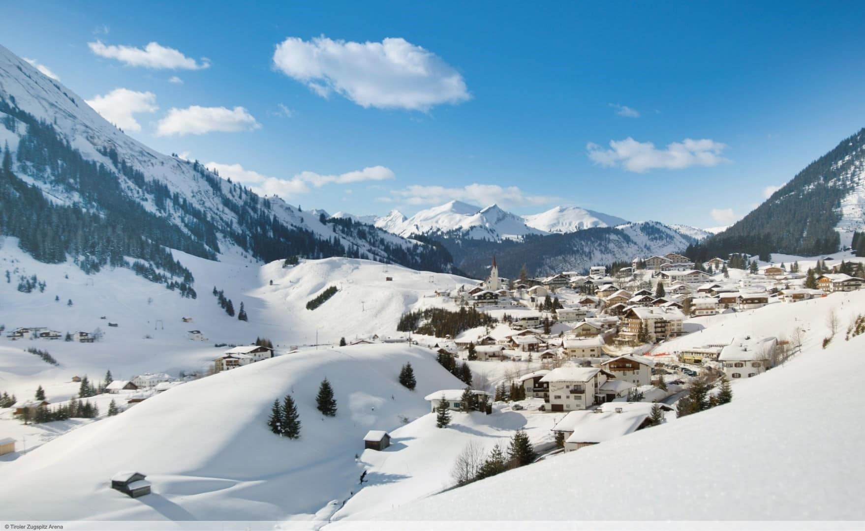 wintersport en aanbiedingen in Berwang