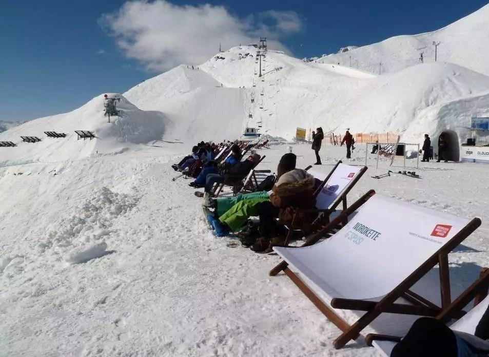 après-ski in Kolsassberg