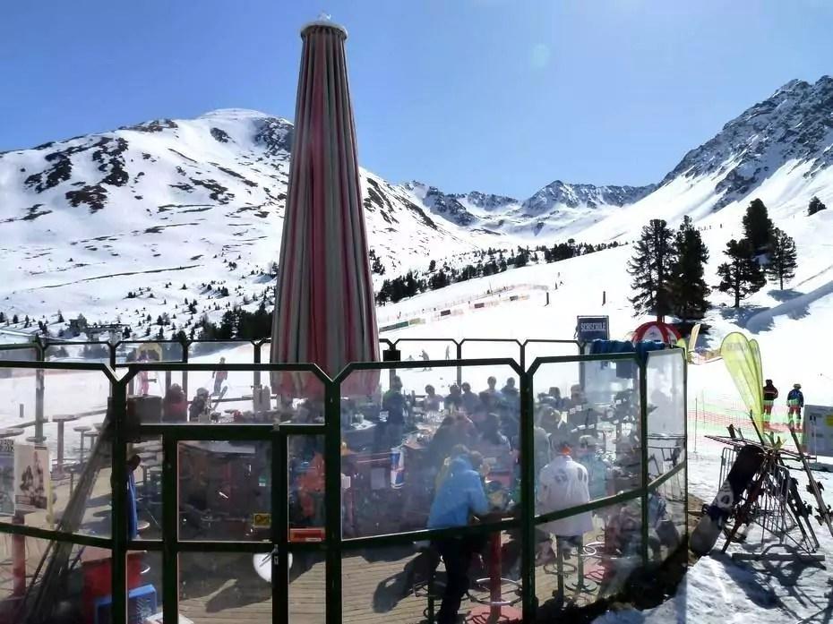 après-ski in Nauders