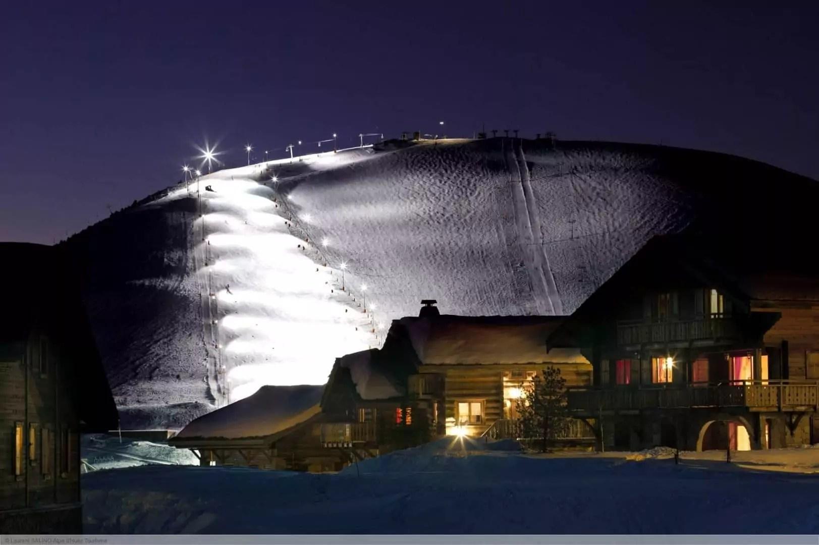 après-ski in Vaujany (Alpe d'Huez)