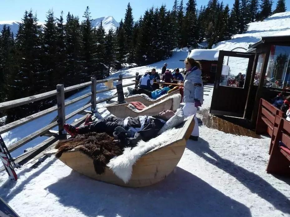 après-ski in Oberperfuss