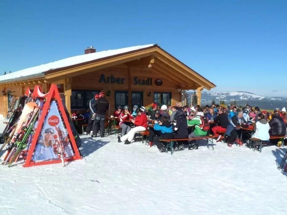 après-ski in Drachselsried am Großen Arber
