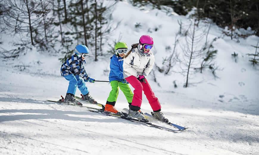 Wintersport met de familie in Königsleiten