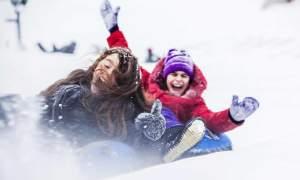 genieten van de wintersport