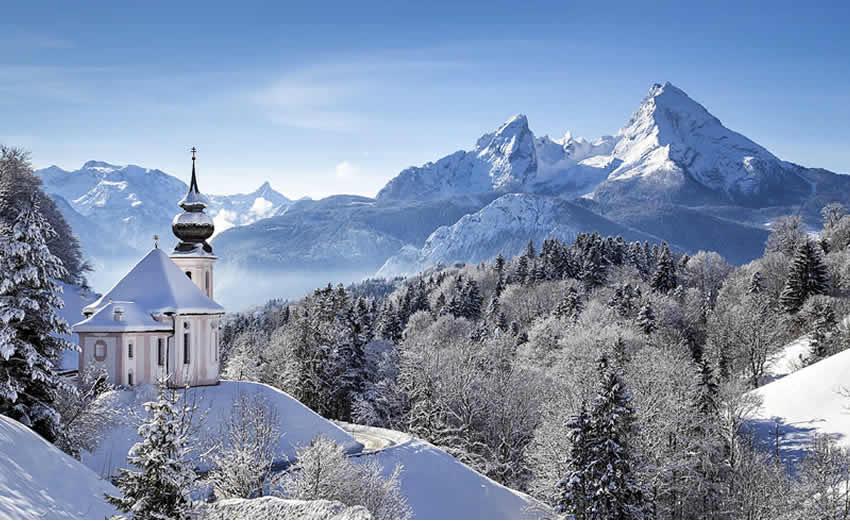 Wintersport in het Berchtesgadenerland