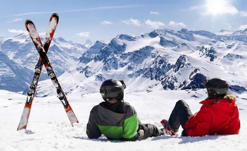 Wintersport Gerlos, Berchtesgadener Land, Rauris. Mayrhofen en Frankrijk