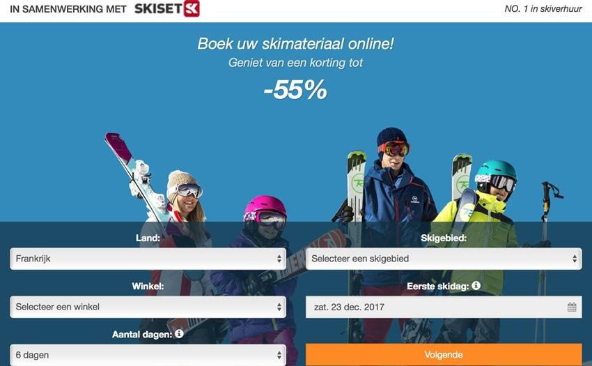 Skihuur bij Skiset