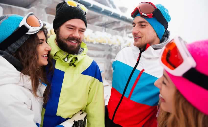 Wintersport met vrienden en familie
