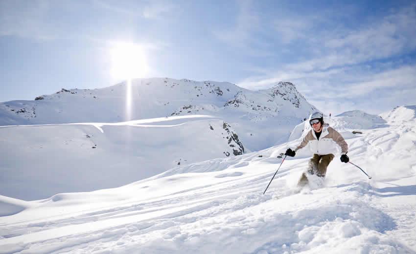 Wintersport met Pasen