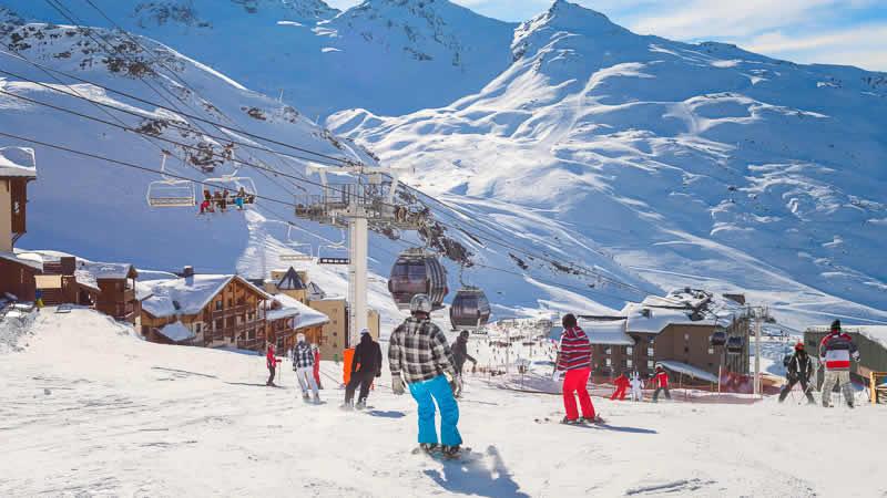 Wintersport in Oostenrijk