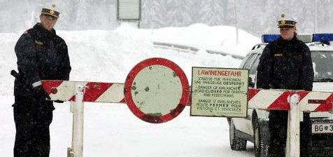 Arlberg enkele uren onbereikbaar