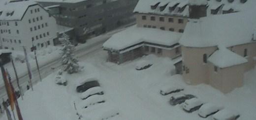 Webcam Hospiz Hotel Arlberg Wintersport Oostenrijk