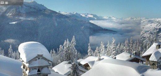 Wintersport Webcam Chalet Le Planica - Rosière