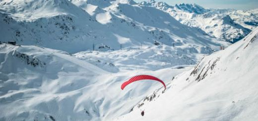 Paragliden in St Anton am Arlberg
