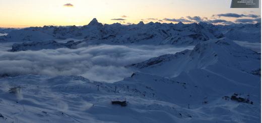 Absurde hoeveelheid sneeuw in Oostenrijk