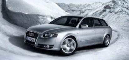 Audi A4 Snow