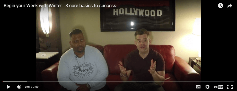 3 core basics to success