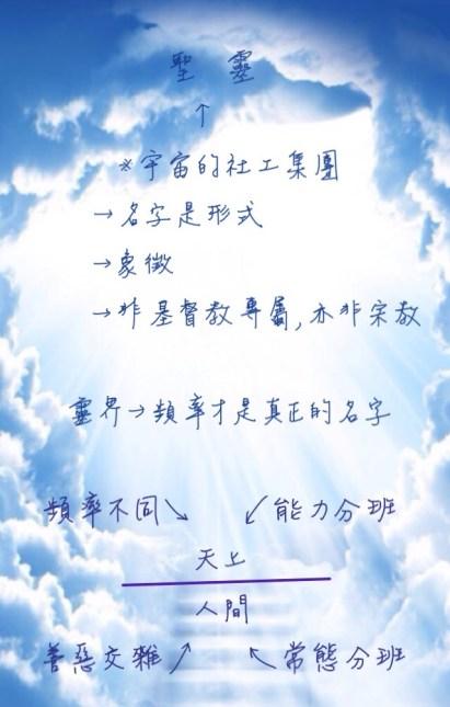 天上人間-交託聖靈
