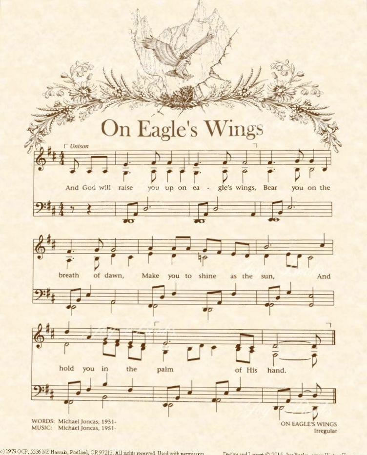 """On Eagles' Wings,"" I Ride"