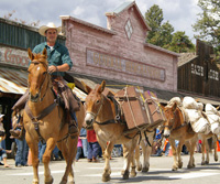 Old West Festival 49er Days Winthrop Washington