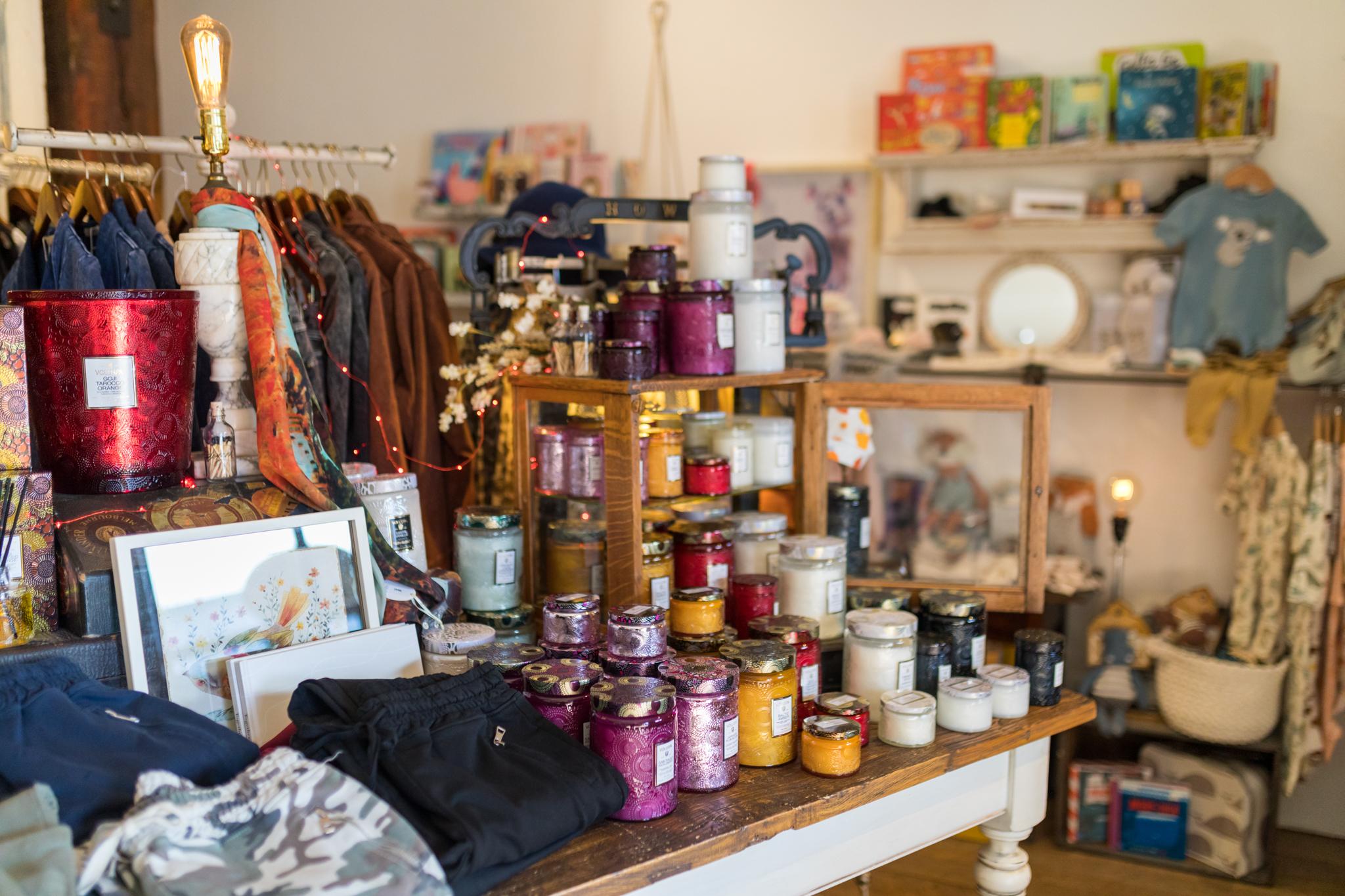 The French Quail Boutique shopping in Winthrop WA