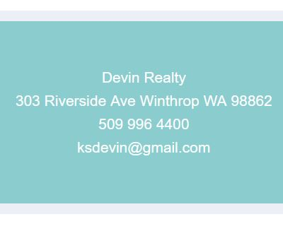 Devin Realty Contact info