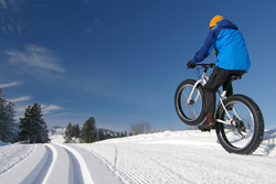 fat tire biking in winthrop washington