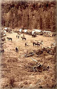 The history of the Methow Valley Winthrop Washington